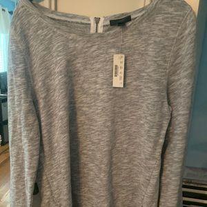 JCrew sweater with zipper design
